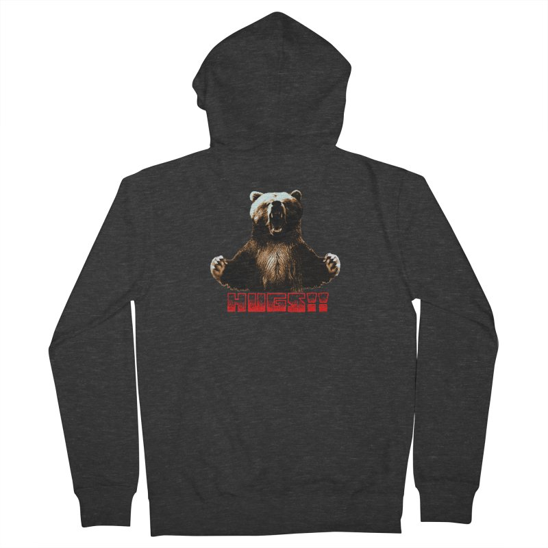 HUGS!!  Men's French Terry Zip-Up Hoody by truthpup's Artist Shop