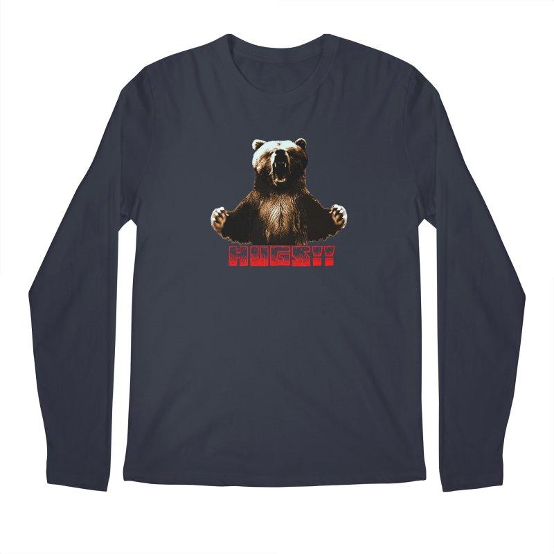 HUGS!!  Men's Regular Longsleeve T-Shirt by truthpup's Artist Shop