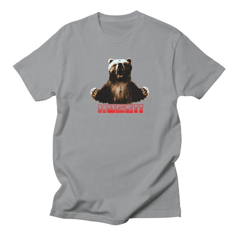 HUGS!!  Men's Regular T-Shirt by truthpup's Artist Shop
