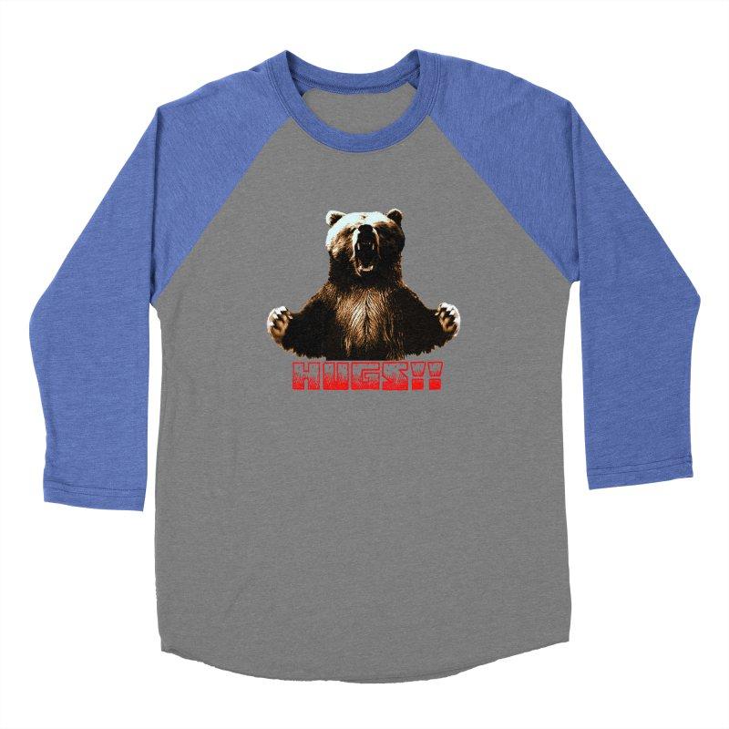 HUGS!!  Women's Baseball Triblend Longsleeve T-Shirt by truthpup's Artist Shop