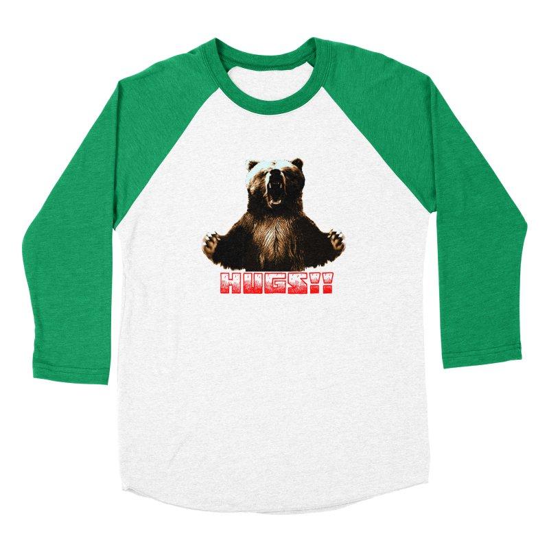 HUGS!!  Men's Baseball Triblend Longsleeve T-Shirt by truthpup's Artist Shop