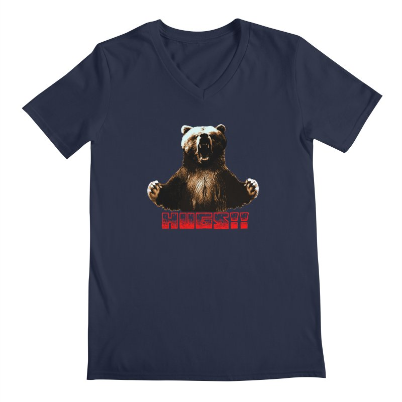 HUGS!!  Men's Regular V-Neck by truthpup's Artist Shop