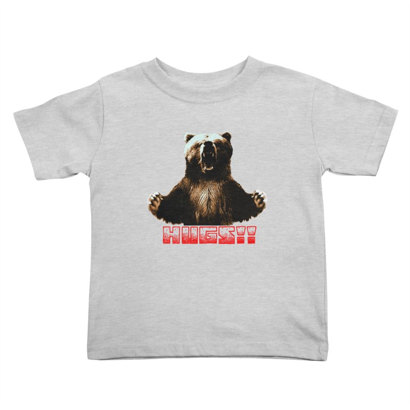 HUGS!!  Kids Toddler T-Shirt by truthpup's Artist Shop