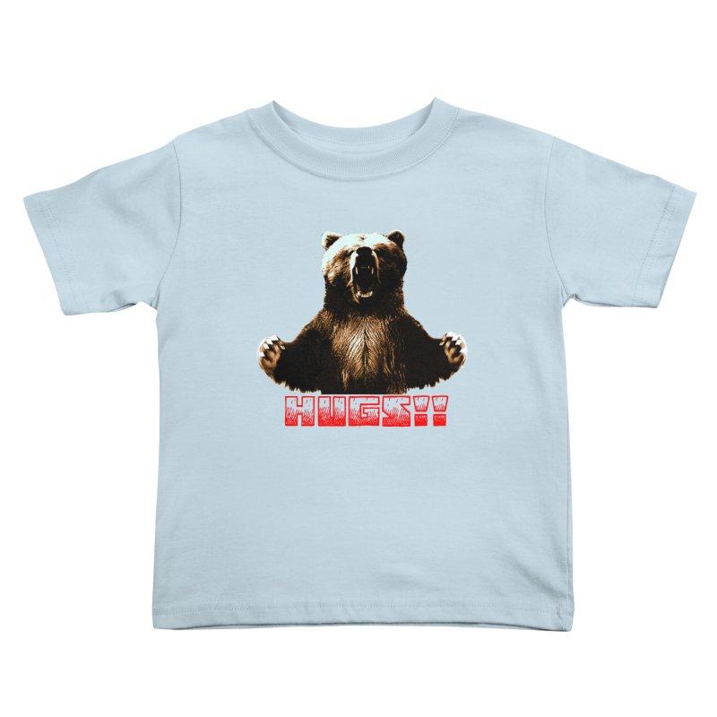 HUGS!!  Kids Toddler T-Shirt by truthpup's Artist Shop