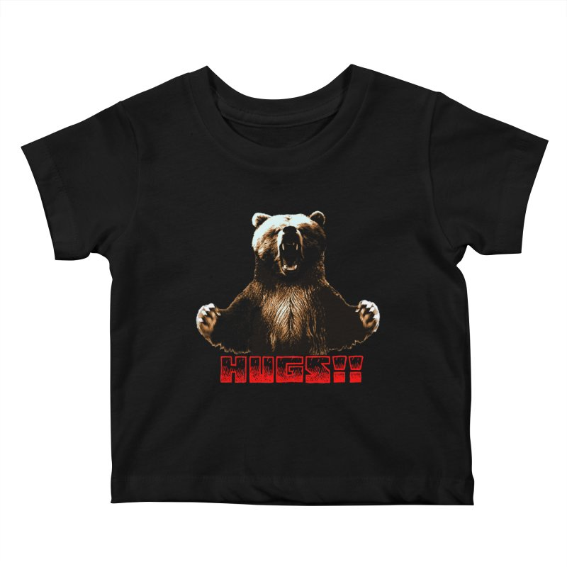 HUGS!!  Kids Baby T-Shirt by truthpup's Artist Shop