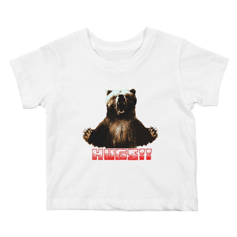 HUGS!!  Kids Baby T-Shirt by truthpup's Artist Shop