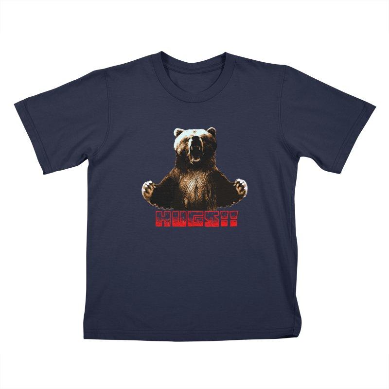 HUGS!!  Kids T-Shirt by truthpup's Artist Shop