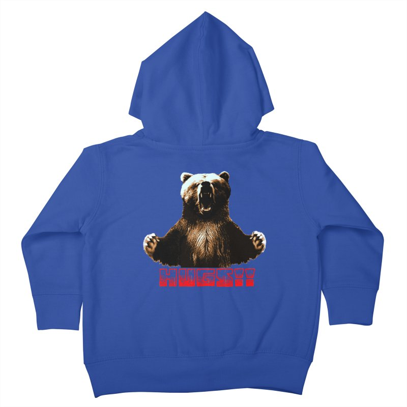 HUGS!!  Kids Toddler Zip-Up Hoody by truthpup's Artist Shop