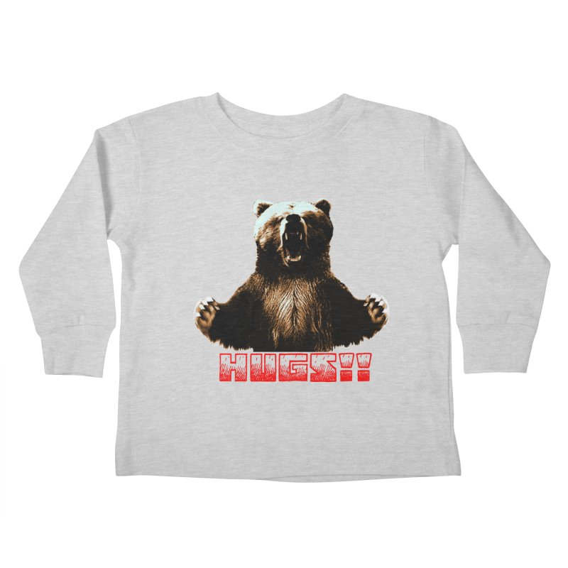 HUGS!!  Kids Toddler Longsleeve T-Shirt by truthpup's Artist Shop