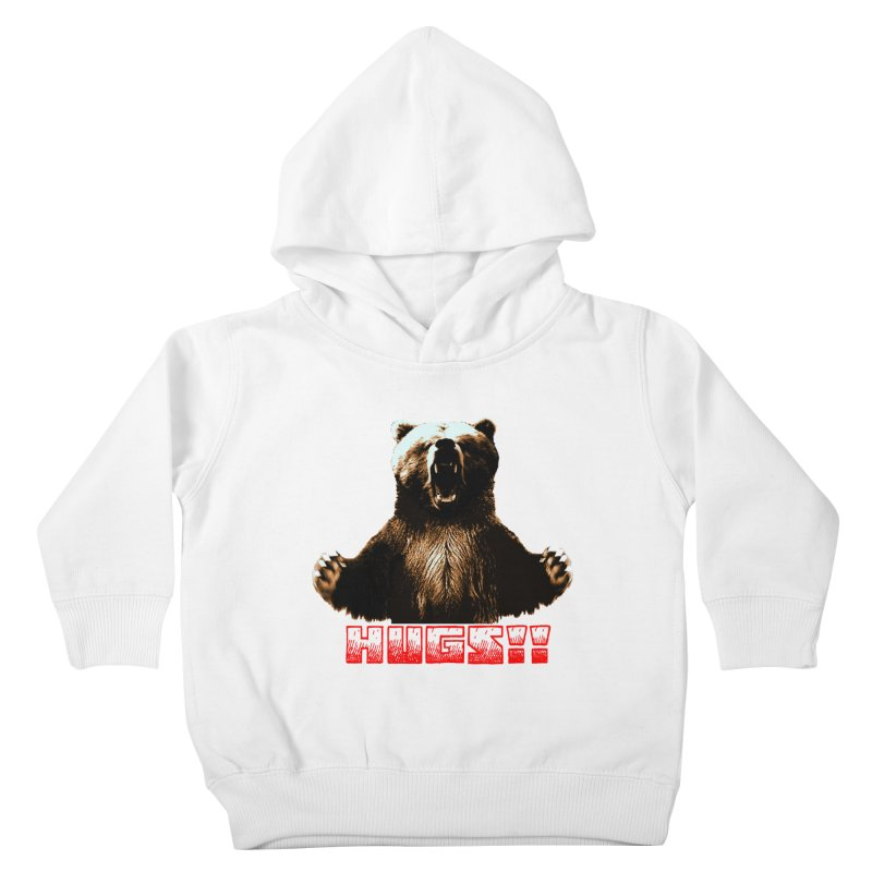 HUGS!!  Kids Toddler Pullover Hoody by truthpup's Artist Shop