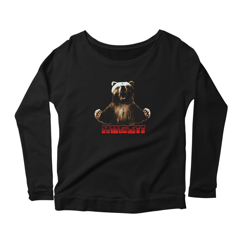 HUGS!!  Women's Longsleeve T-Shirt by truthpup's Artist Shop
