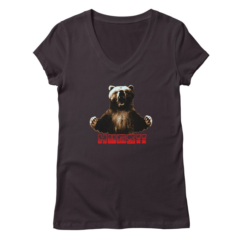 HUGS!!  Women's Regular V-Neck by truthpup's Artist Shop