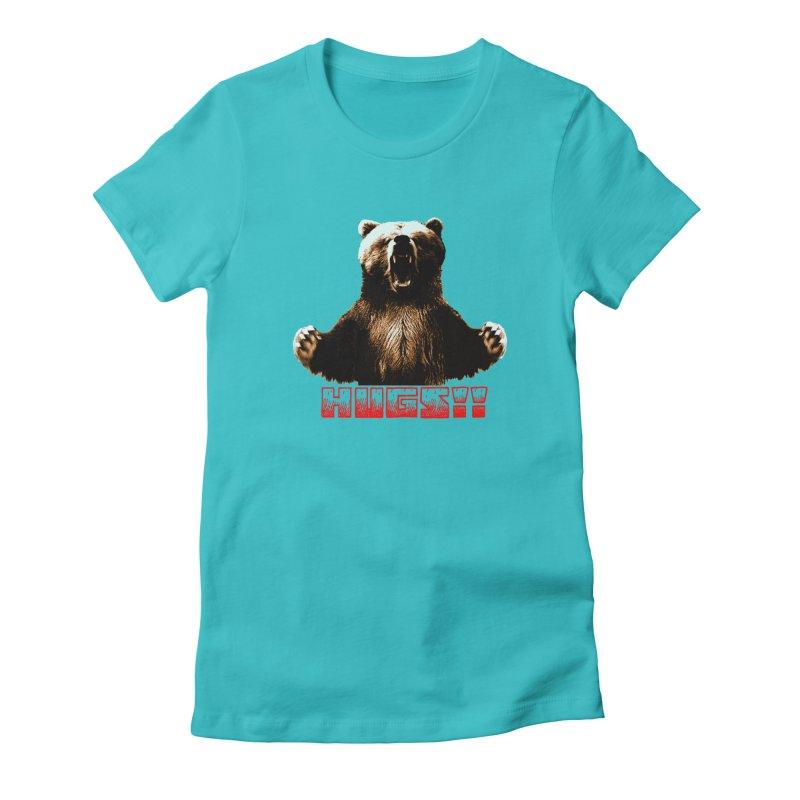 HUGS!!  Women's Fitted T-Shirt by truthpup's Artist Shop