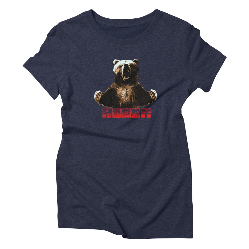 HUGS!!  Women's Triblend T-Shirt by truthpup's Artist Shop