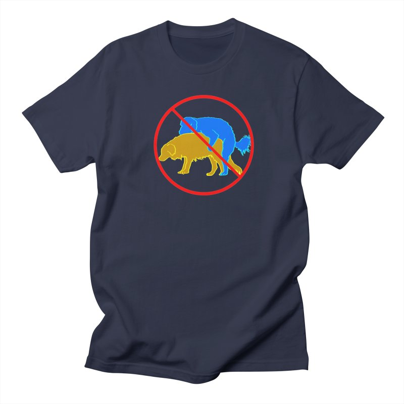 No Hump Zone Men's Regular T-Shirt by truthpup's Artist Shop