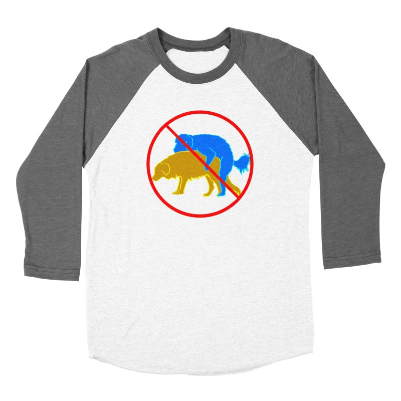 No Hump Zone Women's Baseball Triblend Longsleeve T-Shirt by truthpup's Artist Shop