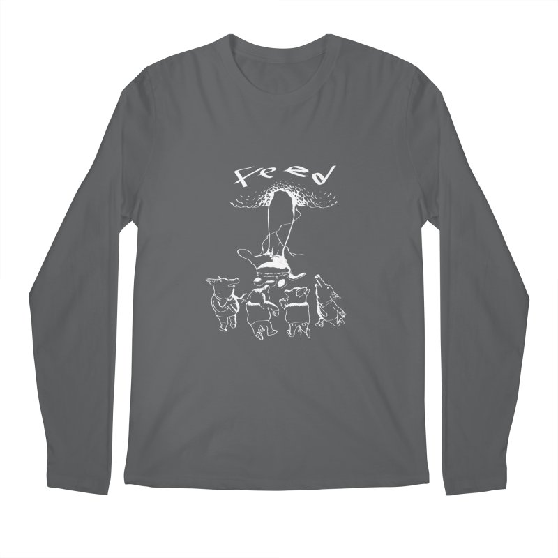 FEED Men's Longsleeve T-Shirt by truthpup's Artist Shop