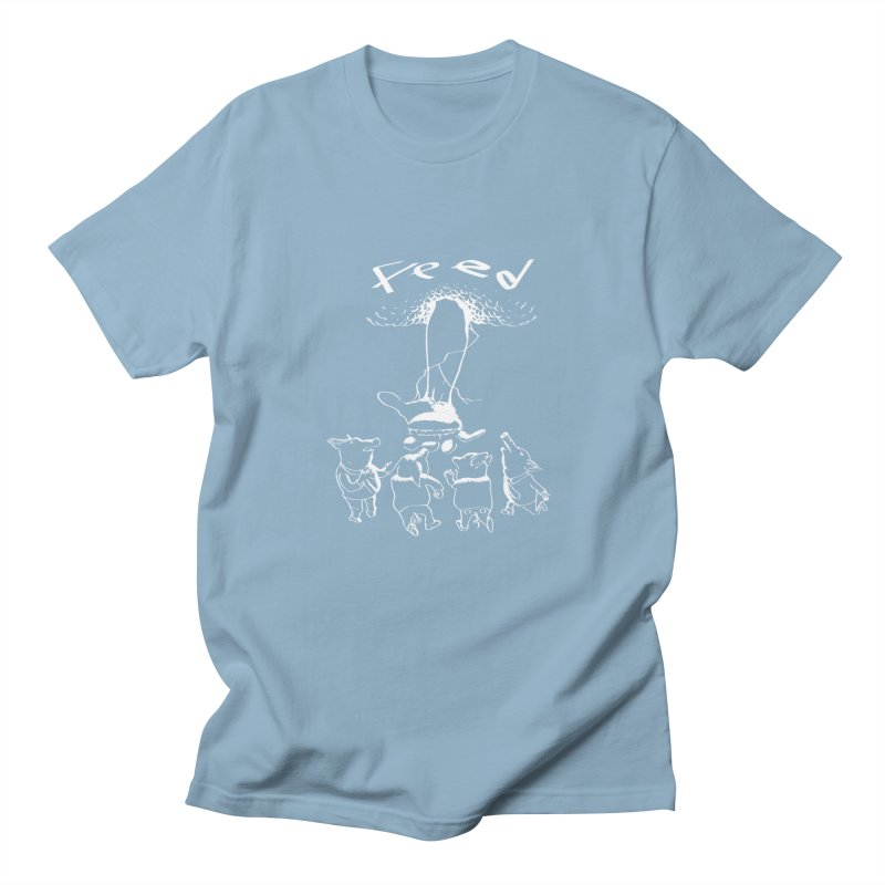 FEED Men's T-Shirt by truthpup's Artist Shop