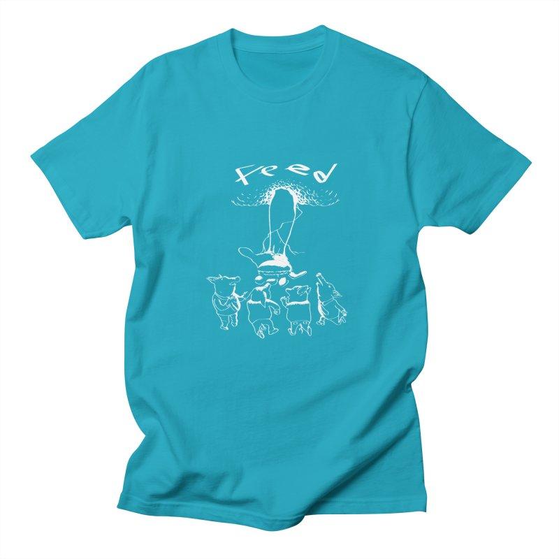 FEED Men's Regular T-Shirt by truthpup's Artist Shop