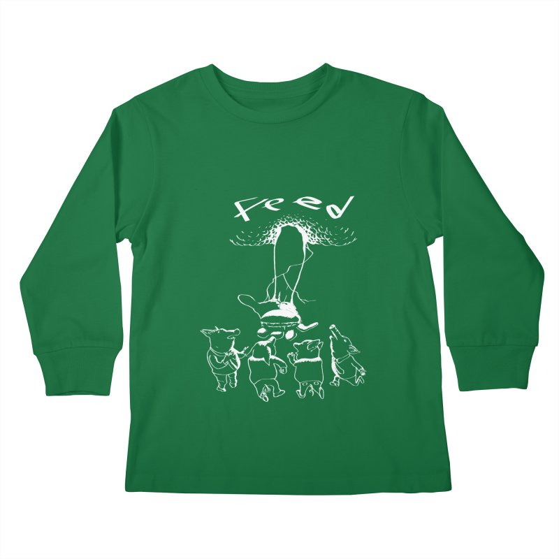 FEED Kids Longsleeve T-Shirt by truthpup's Artist Shop
