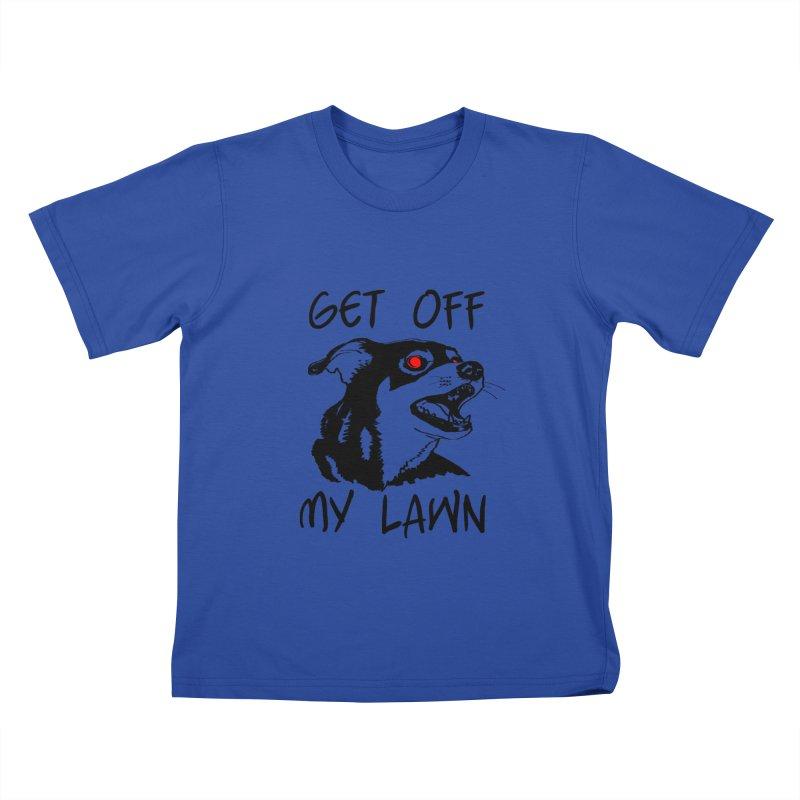 Get Off My Lawn! Kids T-Shirt by truthpup's Artist Shop