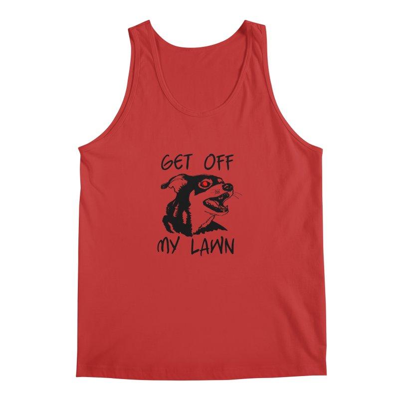 Get Off My Lawn! Men's Regular Tank by truthpup's Artist Shop