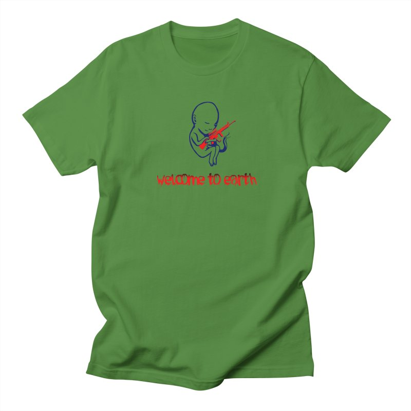 Welcome to Earth Men's T-Shirt by truthpup's Artist Shop