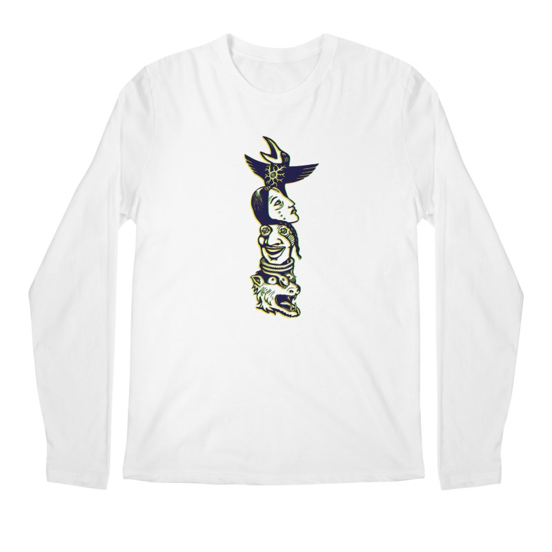 Obvio Totem  Men's Longsleeve T-Shirt by truthpup's Artist Shop
