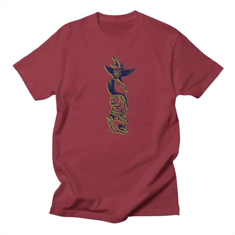 Obvio Totem  Men's Regular T-Shirt by truthpup's Artist Shop