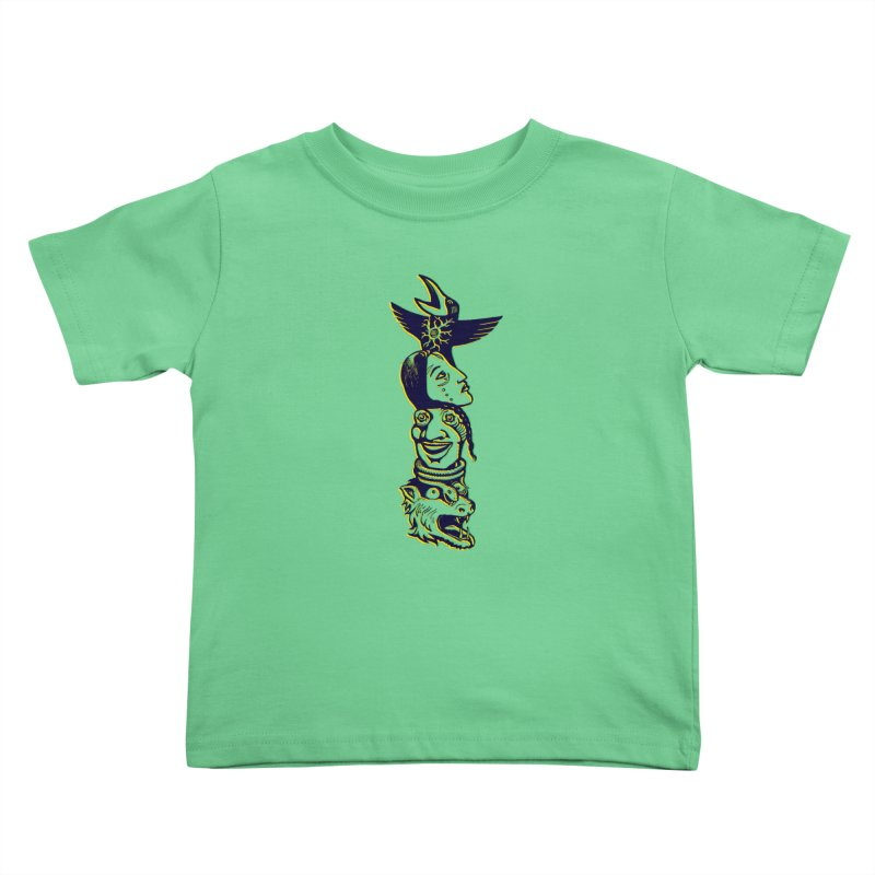 Obvio Totem  Kids Toddler T-Shirt by truthpup's Artist Shop