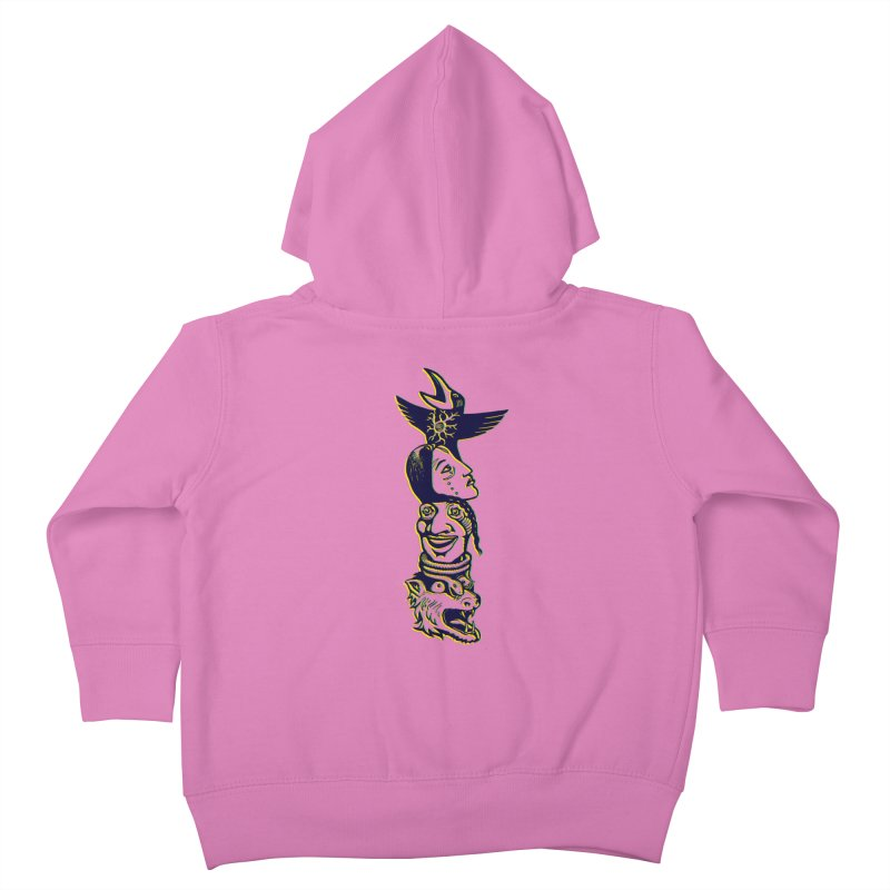 Obvio Totem  Kids Toddler Zip-Up Hoody by truthpup's Artist Shop