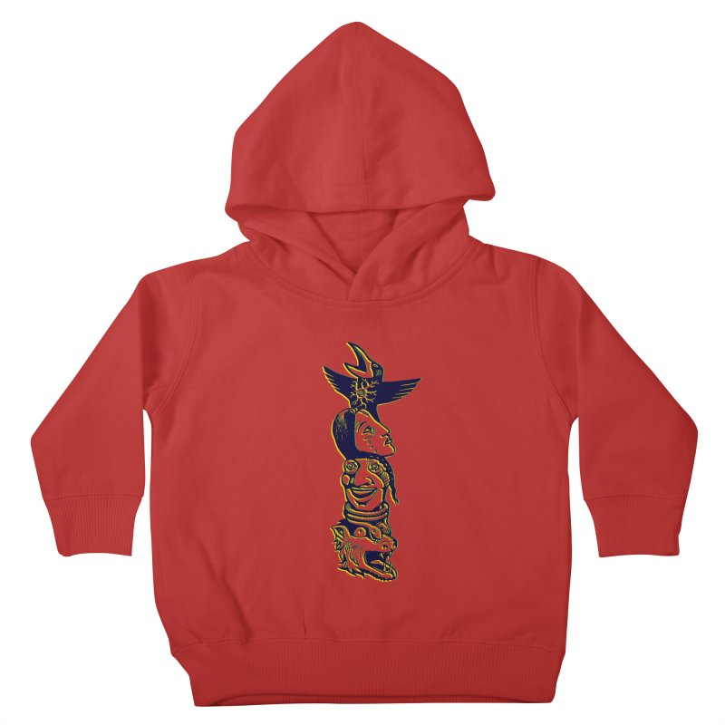Obvio Totem  Kids Toddler Pullover Hoody by truthpup's Artist Shop