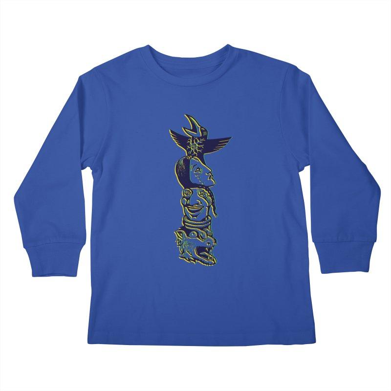 Totem 1 Kids Longsleeve T-Shirt by truthpup's Artist Shop
