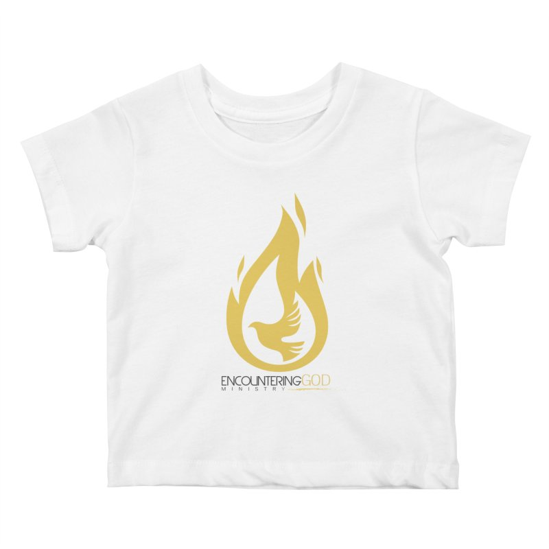 Holy Spirit Fire Tee Kids Baby T-Shirt by TruthSeekah Clothing