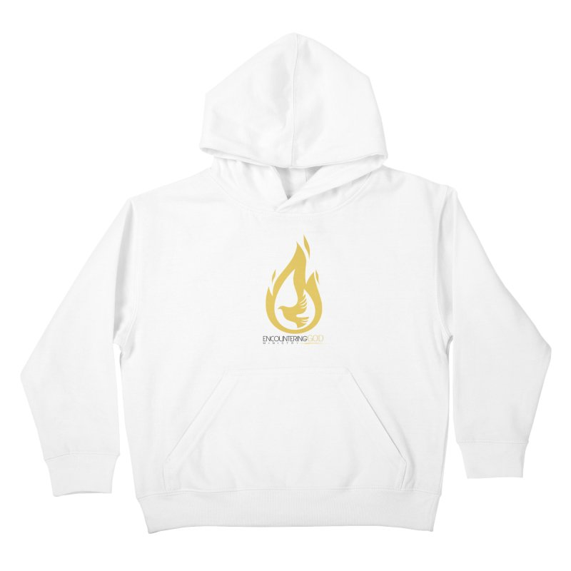 Holy Spirit Fire Tee Kids Pullover Hoody by TruthSeekah Clothing