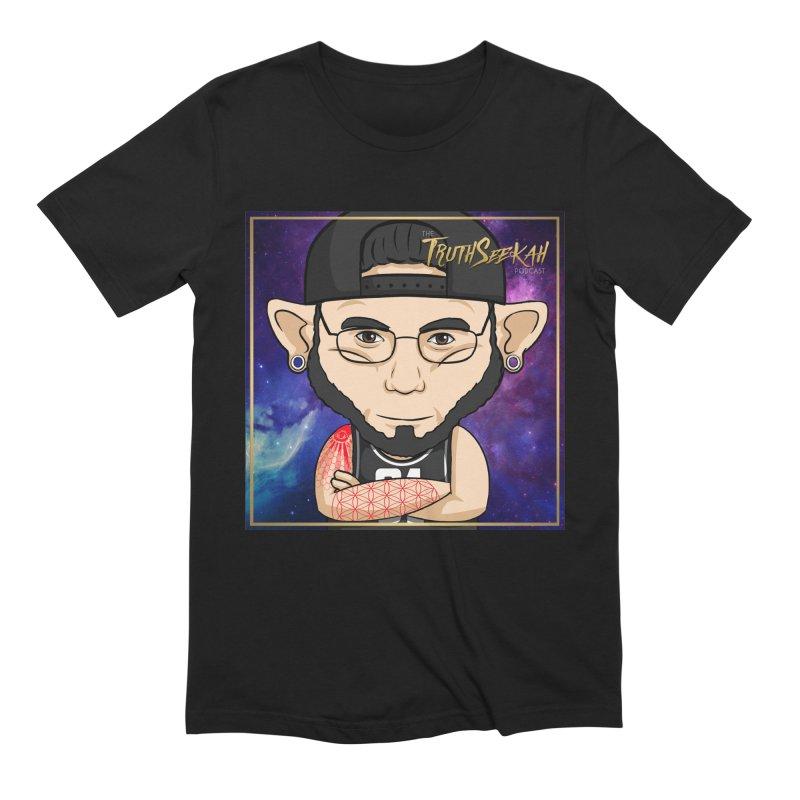 TruthSeekah Toon Tee Men's Extra Soft T-Shirt by TruthSeekah Clothing