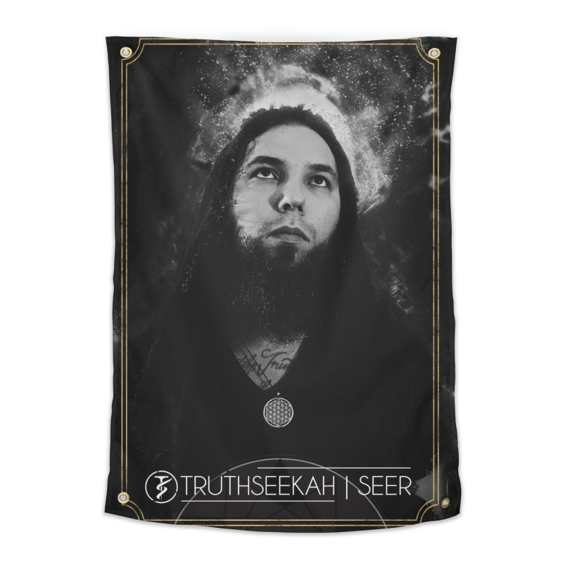 TruthSeekah | Seer | Wall Tapestry Home Tapestry by TruthSeekah Clothing