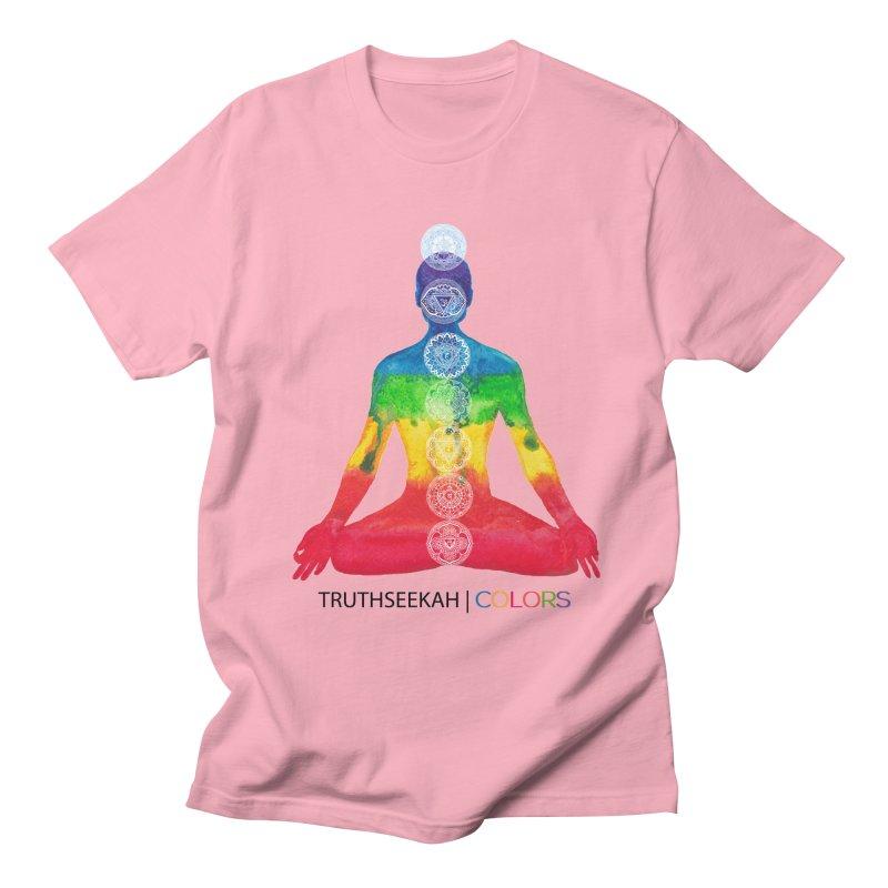 COLORS Chakra Tee Women's Regular Unisex T-Shirt by TruthSeekah Clothing