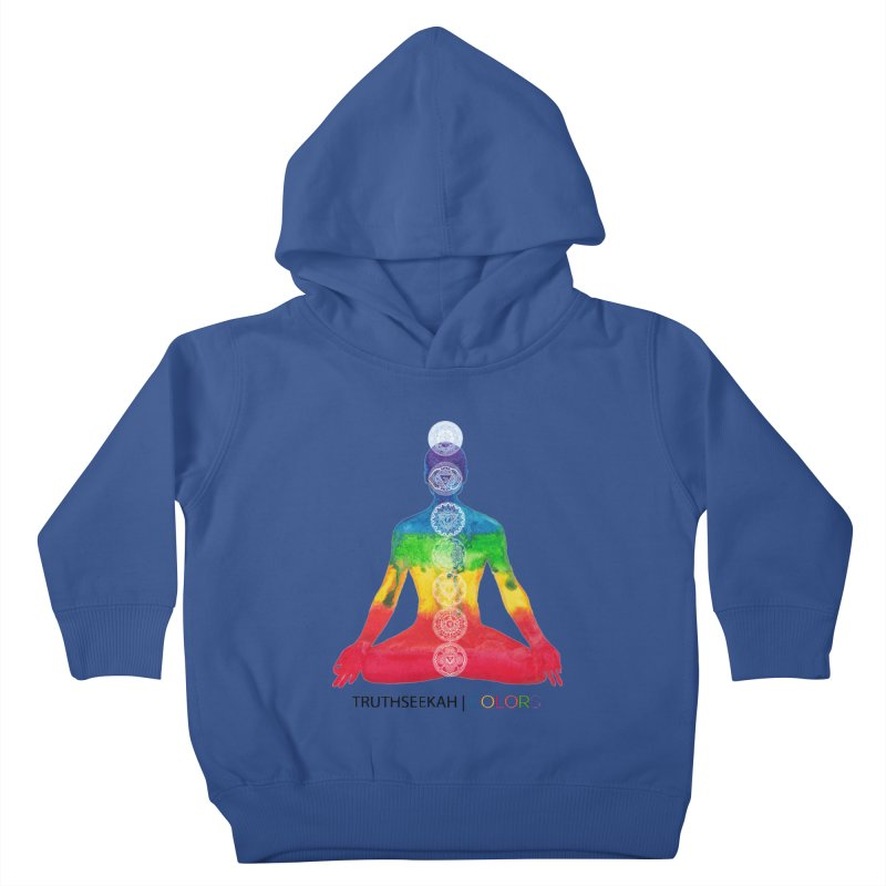 COLORS Chakra Tee Kids Toddler Pullover Hoody by TruthSeekah Clothing