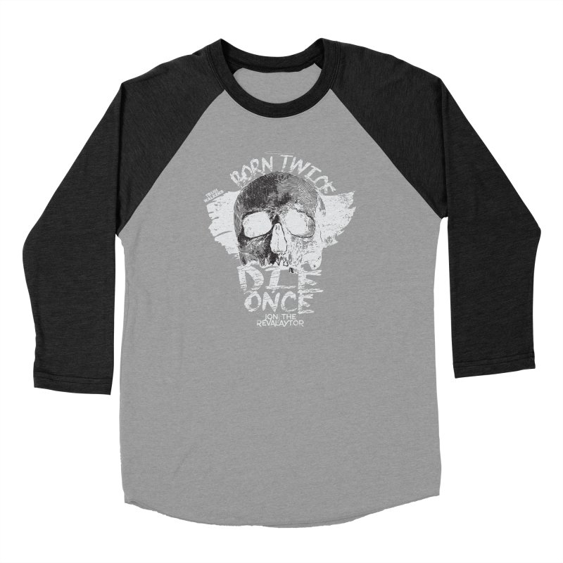 BORN TWICE, DIE ONCE BLACKOUT COLLECTION Women's Longsleeve T-Shirt by truthwalkers's Artist Shop