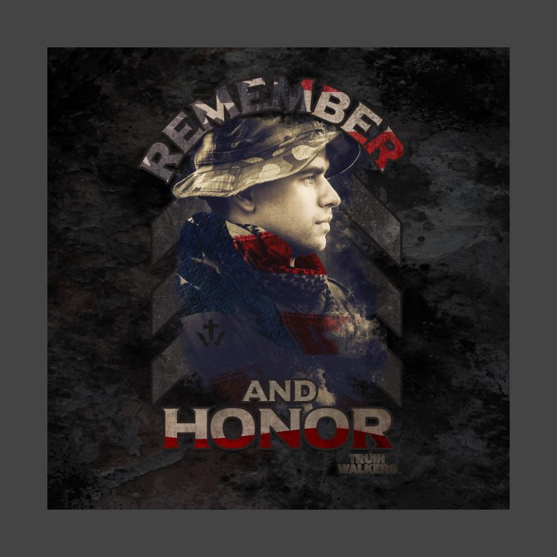 Remember and Honor Men's T-Shirt by truthwalkers's Artist Shop