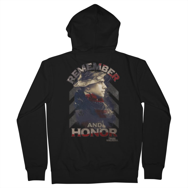 Remember and Honor Women's Zip-Up Hoody by truthwalkers's Artist Shop