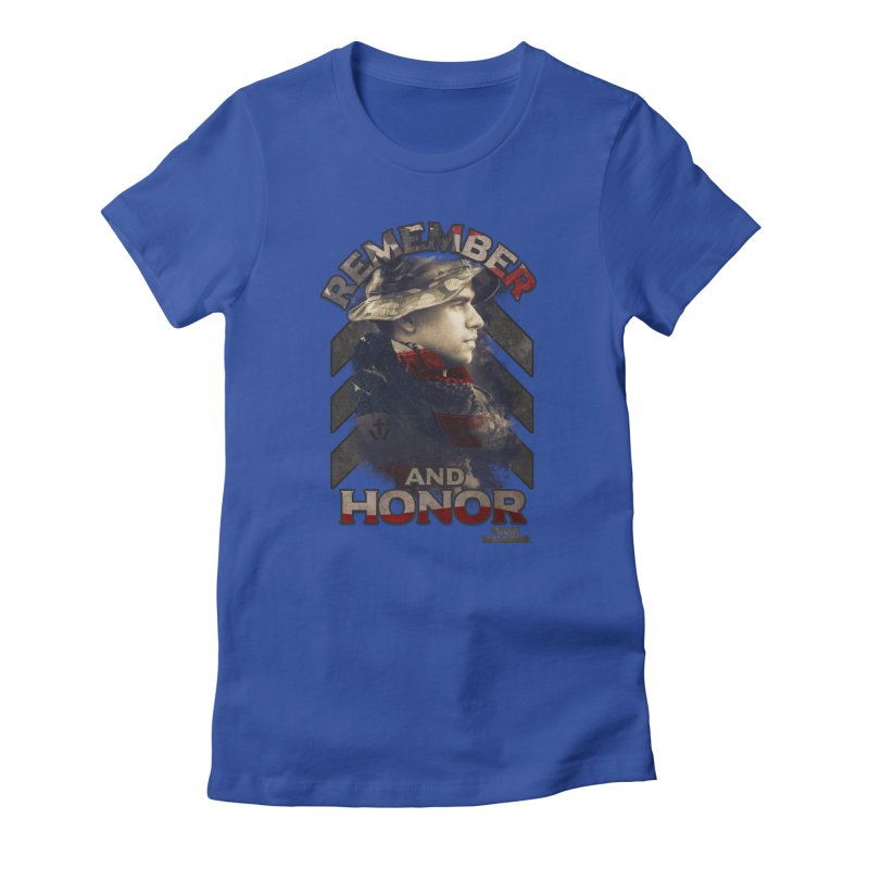 Remember and Honor Women's T-Shirt by truthwalkers's Artist Shop