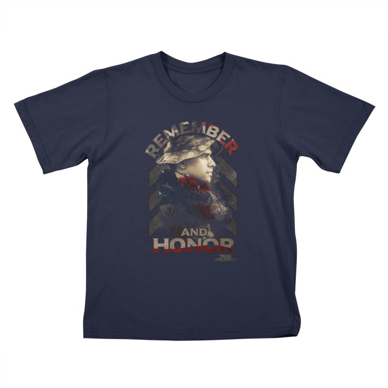 Remember and Honor Kids T-Shirt by truthwalkers's Artist Shop
