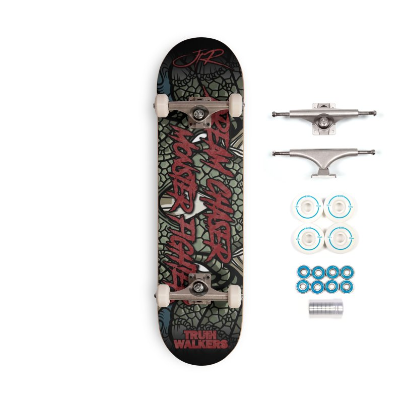 Dream Chaser Monster Fighter Accessories Skateboard by truthwalkers's Artist Shop
