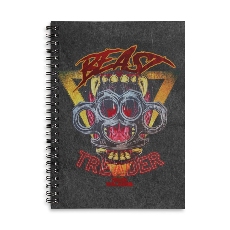 BEAST TREADER Accessories Notebook by truthwalkers's Artist Shop