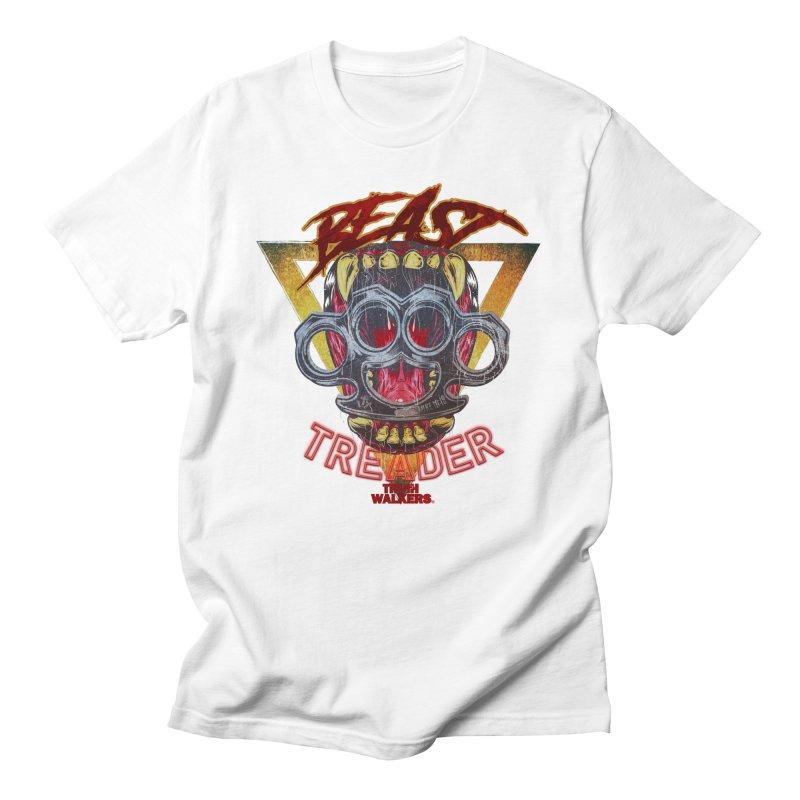 BEAST TREADER Men's T-Shirt by truthwalkers's Artist Shop