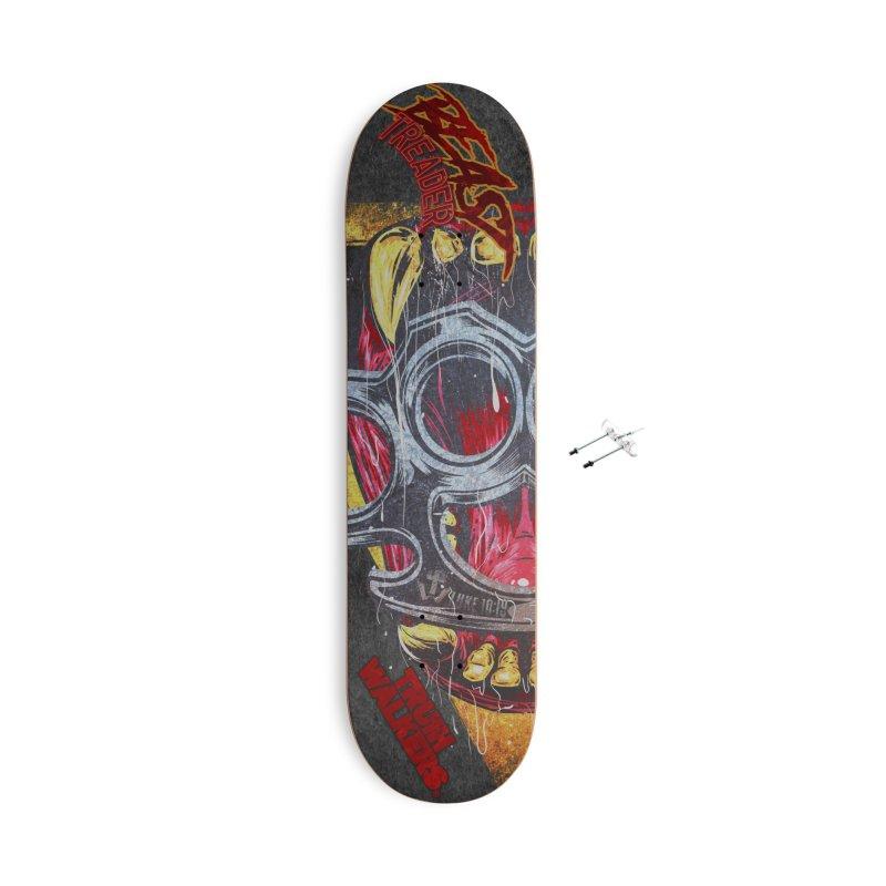 BEAST TREADER Accessories Skateboard by truthwalkers's Artist Shop