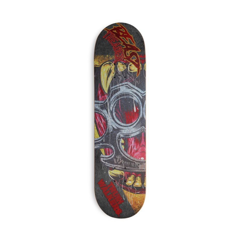 BEAST TREADER Accessories Skateboard by truthwalkers's Artist Shop
