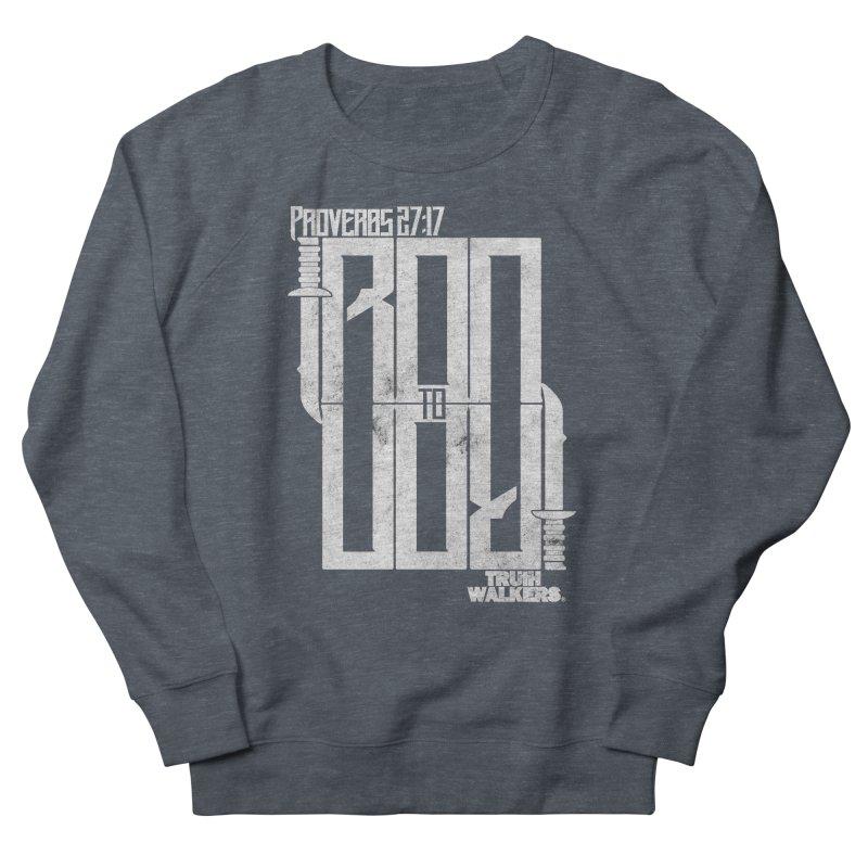 IRON TO IRON Men's Sweatshirt by truthwalkers's Artist Shop
